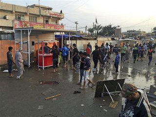 59 dead after bombing in Baghdad