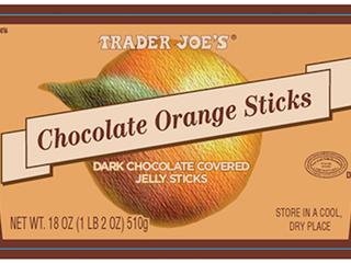 Trader Joe's recalls chocolate orange sticks