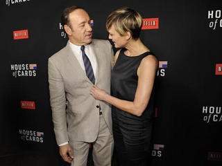 Wright demanded equal pay for 'House of Cards'