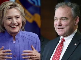 Tim Kaine tops potential Clinton VP list