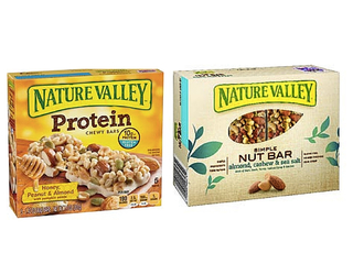 Nature Valley recalls chewy bars and nut bars