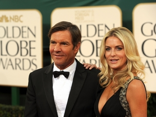 Dennis Quaid's wife files for divorce again