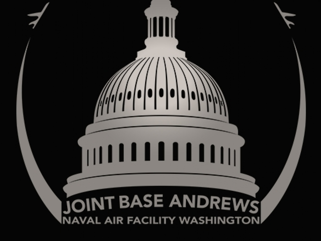 "Lockdown at Joint Base Andrews ""all clear"""