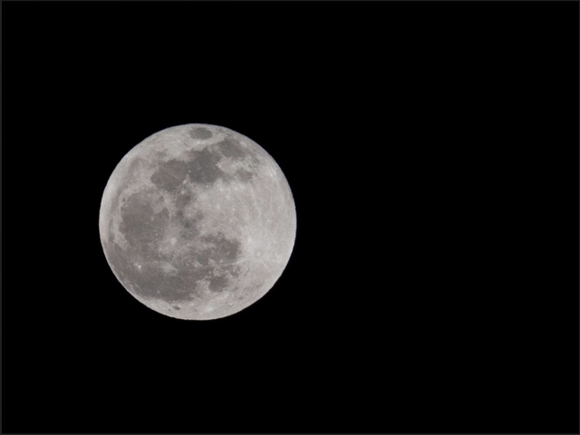 Stargazers will marvel at the Buck Full Moon Tuesday night