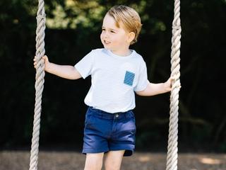 Prince George celebrates birthday with photos