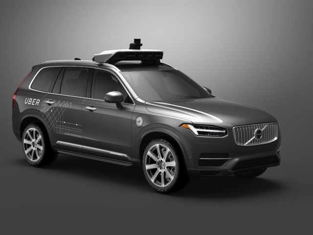 Volvo teams up with Uber to produce driverless cars