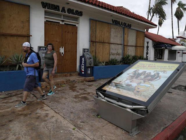 Dead, 3 Missing As Category 1 Hurricane Batters Mexico's Baja California Peninsula