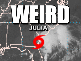 Julia and 6 other weird tropical cyclones