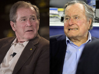 Opinion: Bushes should come out against Trump