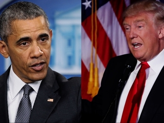 A look at Trump and Obama's strained past