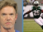 Man charged in former NFL player's death