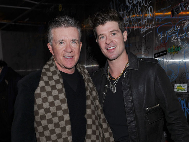 Robin Thicke posts emotional tribute to late father Alan Thicke