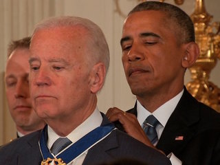Biden awarded with Presidential Medal of Freedom