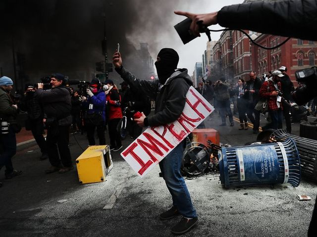 Journalists Face Felony Charges After Covering Inauguration Protests