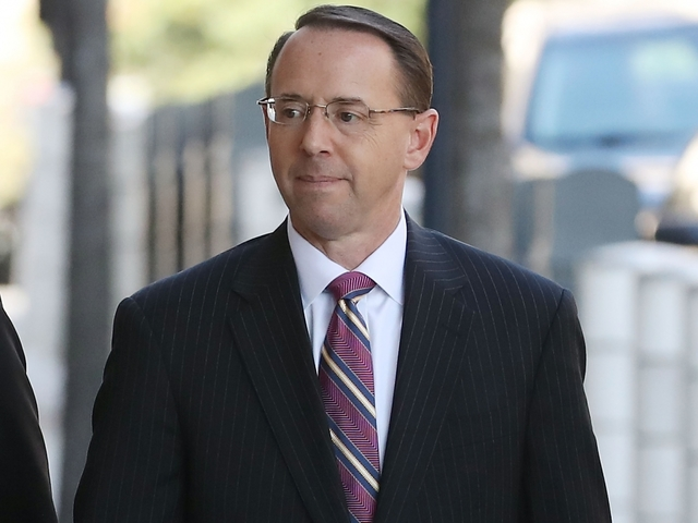 Rod Rosenstein is the new deputy AG