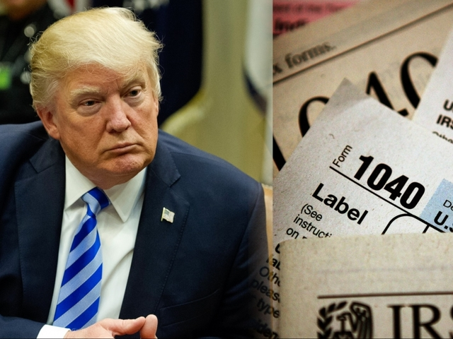 Tax day brings up questions about Trump's unreleased tax returns