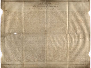 Second copy of Declaration of Independence found