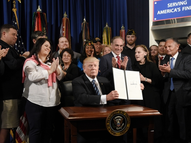 Trump creates accountability office at VA