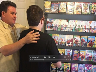 Parents bring Blockbuster to son with autism