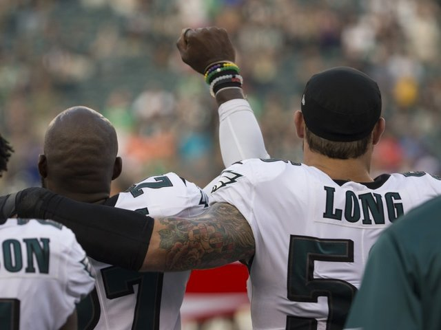 Why Chris Long Put Arm Around Malcolm Jenkins During National Anthem Protest
