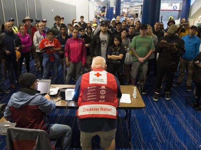 Local Red Cross volunteer helps those in need following Hurricane Harvey