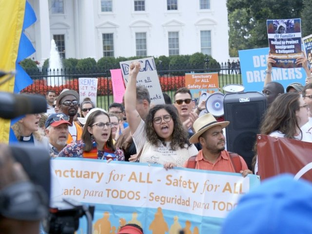 15 states, DC sue Trump administration over ending DACA