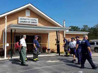 1 dead in Tennessee church shooting