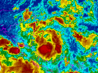 New tropical depression forms in Caribbean Sea