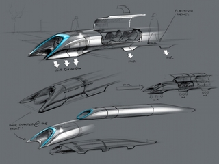 Questions raised over future of Hyperloop train