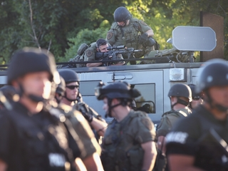 St. Louis County police haven't demilitarized