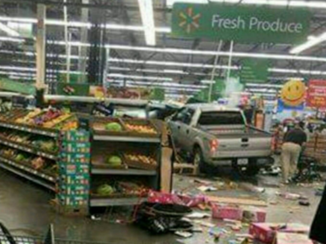 Three dead after truck crashes through doors of Iowa Wal-Mart & Truck crashes through doors of Iowa Wal-Mart - ABC2News.com Pezcame.Com