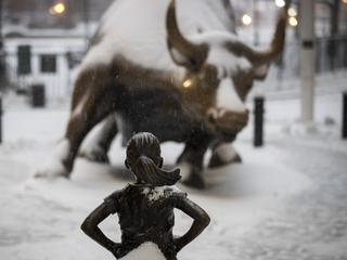 'Fearless Girl' to leave Wall Street