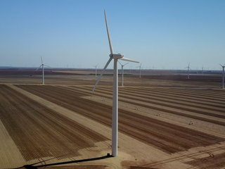 Texas leads the US in wind energy