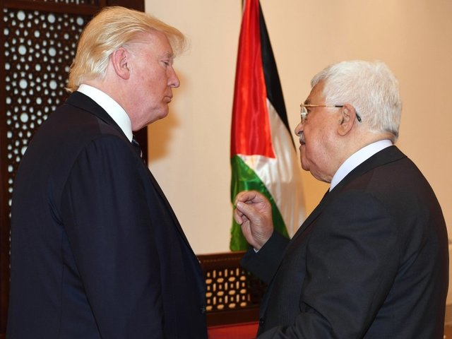 Palestinians freeze ties with US