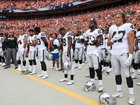 Report: NFL may keep players inside for anthem