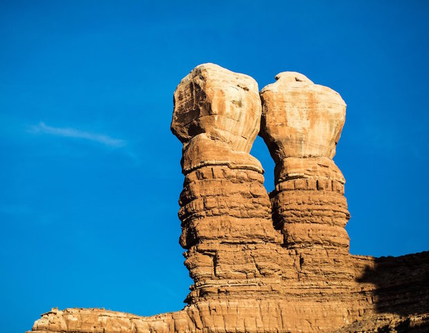 Hoodoos are among the natural wonders in Bears Ears National Monument.                       Bill Weir