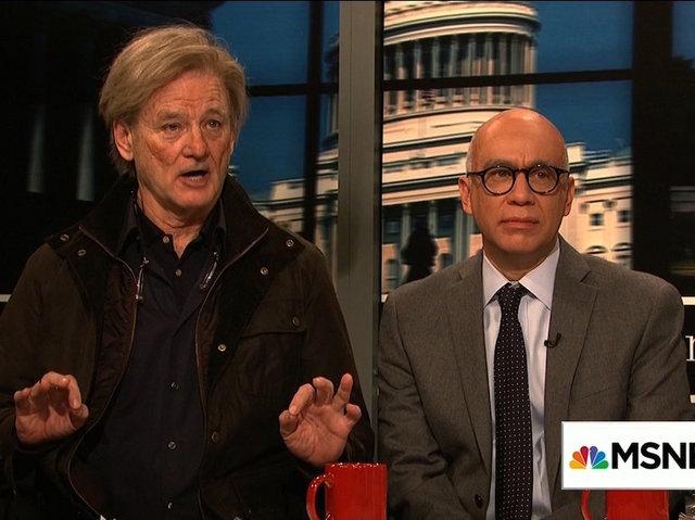 Watch Legend Bill Murray As Steve Bannon On SNL