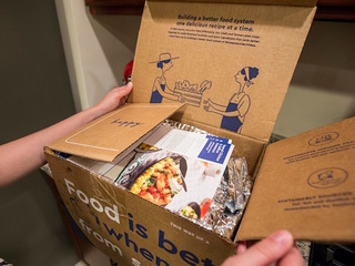 Blue Apron plans to bring its meal kits in store