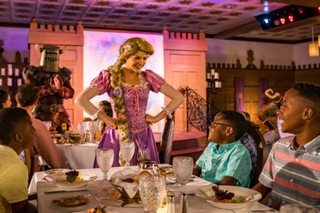 'Tangled'-themed restaurant now open on ship