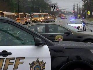 3 shot, including gunman, in MD school shooting