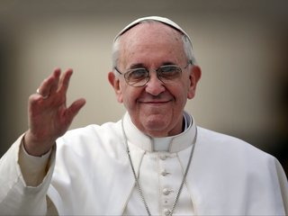 Pope tells gay man 'God made you like this'
